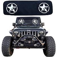 passgenau. passend f/ür jedes Jahr XJ 1984-2001 Windschutzscheibe Sonnenschutz Banner RoRex Jeep Cherokee XJ Zubeh/ör