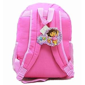 Medio mochila–Dora la Exploradora–rosa–Running W/botas y flores