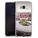 DeinDesign Samsung Galaxy S8 Silikon Hülle Case Schutzhülle VfB Stuttgart Fanartikel Stadion