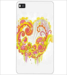 HUAWEI P8 HEART Designer Back Cover Case By PRINTSWAG