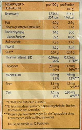 Kölln Müsli Früchte ohne Zuckerzusatz, 1.7 kg