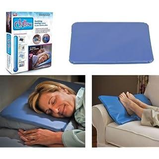 Bed Pillow chillow Cooling Kissen Pad Gerät Einsatz Komfort Schlafsack Therapie As Seen on TV