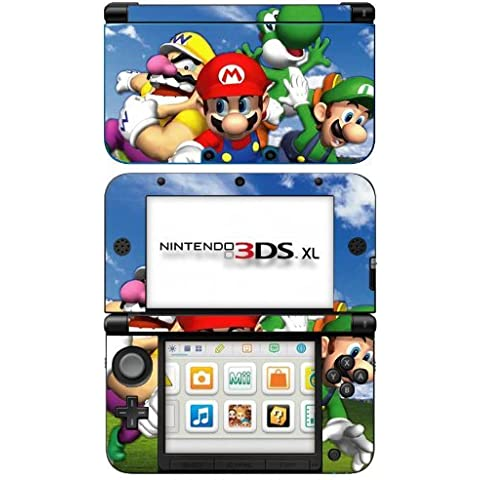 Super Mario 3D World Game Skin for Nintendo 3DS XL Console by Skinhub