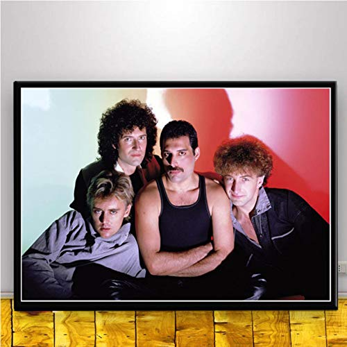 MISSOUL Cartel Impresiones Queen Rock Band Cuadro