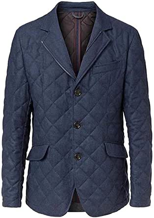 Men's Hackett London Wool Blazer in Blue (S) (S)