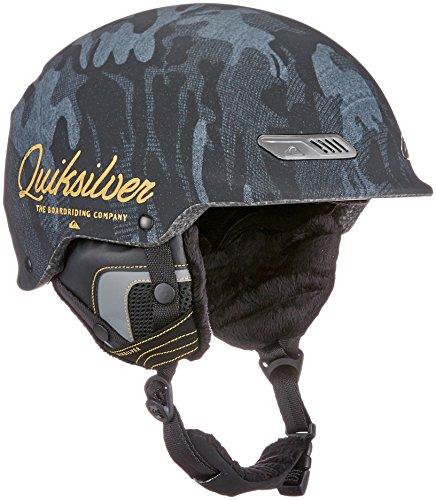 Quiksilver Wildcat Casco Snowboard/Esquí, Hombre, Anthracite, 58