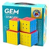 #3: Playking Gem Rubiks Cube - Set of 4 Cubes - 2x2/3x3/4x4/5x5