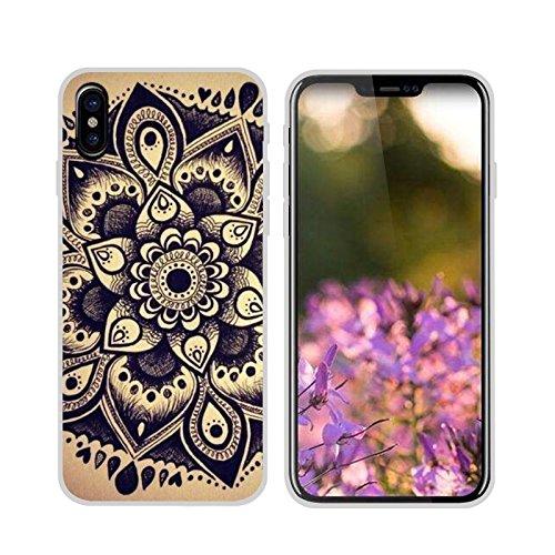 Easbuy Handy Hülle Soft Silikon Case Etui Tasche für iPhone 8 Smartphone Cover Handytasche Handyhülle Schutzhülle Mode 9