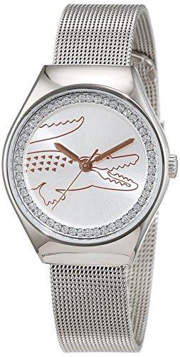 Lacoste orologio da polso da donna al quarzo in acciaio inox VALENCIA Medium 2000895