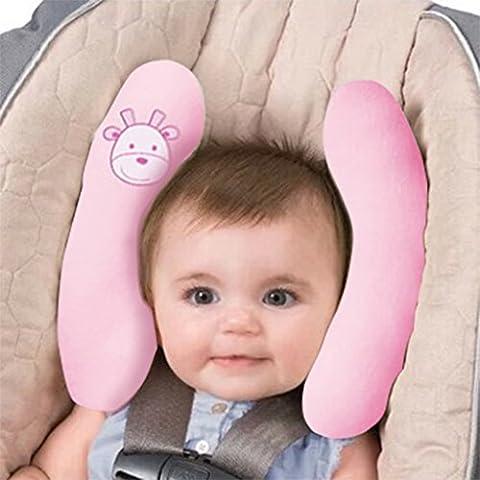 Vine Bebé Viaje Almohadilla Soporte para Cabeza Cojín cervical Niños almohada de asiento de coche Viaje Cochecito
