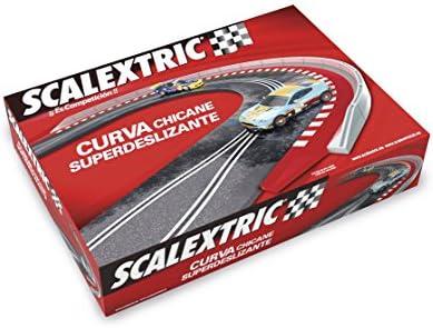 Scalextric Original - Curva superdeslizante universal (Fábrica de Juguetes 90066)