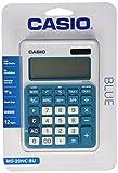 Casio MS-20NC-BU Basic Calculator LARGE DISPLAY Tax Calculations