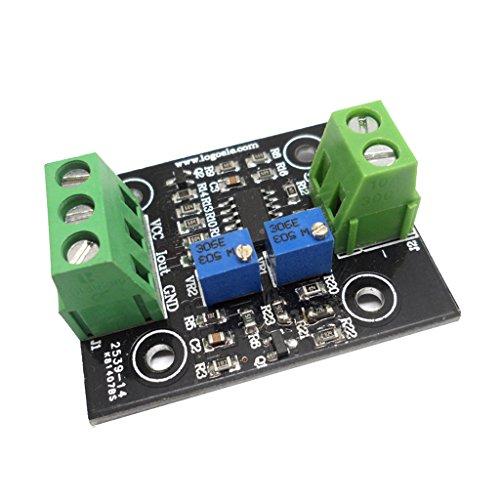 Spannung Strom Wandler (D DOLITY Strom Zu Spannung 4-20mA Wandler-Sensormodul-Platine Hauptsächlich Für industriellen Steuerungen - als Bild zeigen 4-20mA zu 0-3.3v)