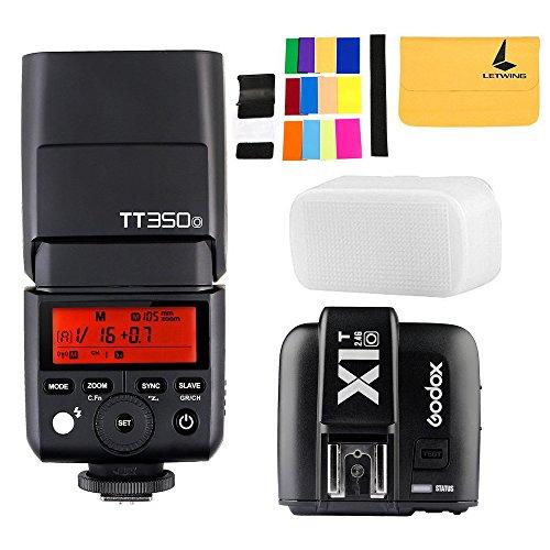 GODOX TT350o TTL Blitzlicht 2.4G HSS 1 / 8000s GN36 Kamera Speedlite + X1T-O TTL Trigger 1 / 8000s HSS 32 Kanäle 2.4G Blitzlicht Kit für Olympus / Panasonic Mirrorless Digitalkamera -