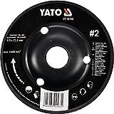 YATO Profi Raspelscheibe für Winkelschleifer Auswahl 115 mm 125 mm Schleifscheibe Holzscheibe Holz Flex Holzkunst (125mm Nr 2 schräg)