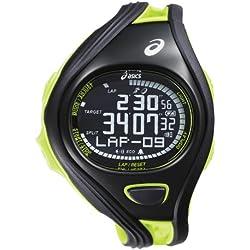 Asics CQAR0406 - Reloj digital de cuarzo unisex con correa de plástico, color multicolor