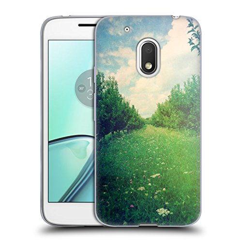 Offizielle Olivia Joy StClaire Obstgarten Natur Soft Gel Hülle für Motorola Moto G4 Play