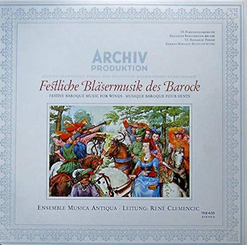 Festliche Bläsermusik des Barock [Vinyl LP] [Schallplatte]