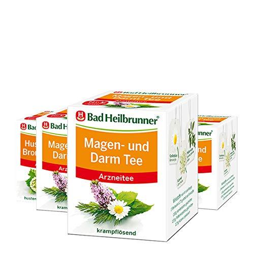 Husten- und Bronchial Tee Husten plus Bronchial Tee, 4er Pack (4 x 16 g)