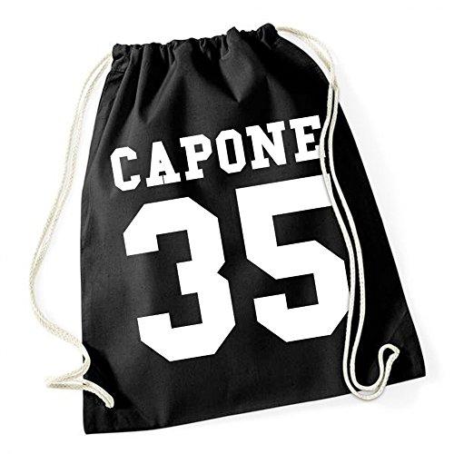 Certified Freak Capone 35 Borsa De Gym Nero