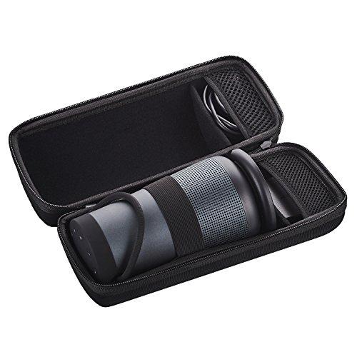 Casingwise Bose SoundLink Revolve+ Plus Tasche. Premium Hard Case Hülle für optimalen Schutz bei Transport und Reisen. Hard Case Hülle