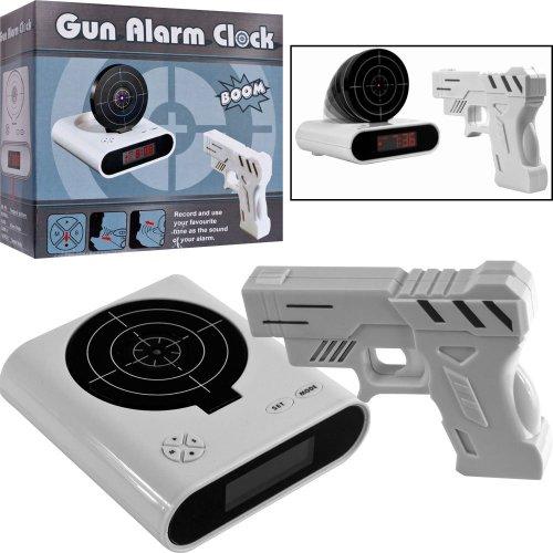 Althemax® Panel Target Shooting Reloj juguete pistola