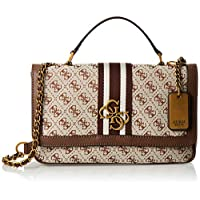 GUESS Womens Shoulder Bag, Brown - SB730419
