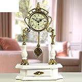 relojes antiguos europeos mudos reloj de bronce de salón reloj chino grande moderno Moda creativa...