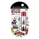Maybelline Baby Lips Alia Loves New York, Highline Wine, 4g