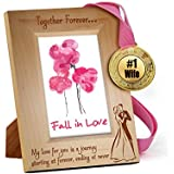 TiedRibbons® Karvachauth Gift Items Wooden Engraved Frame With Golden Medal   Karwa Gift For Wife   Karwachauth Special Gifts For Women   Karwachauth Special Gifts For Wife
