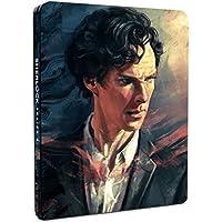 Sherlock - Series 4 [Blu-ray Steelbook]- Exclusive to Amazon.co.uk