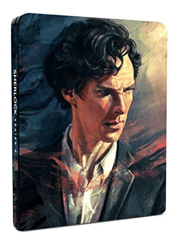 Sherlock - Series 4 Blu-ray Steelbook - Exclusive to Amazon.co.uk [2016]
