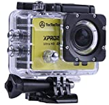 [Nouveau] TecTecTec XPRO2 Caméra Sport 4K Ultra HD Wifi - Camera étanche 16 Mp - Jaune