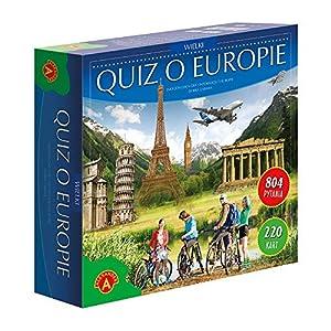 Alexander Quiz o Europie - wielki Juego Educativo - Juego de Tablero (Juego Educativo, 10 año(s), Polaco, Polaco, 220 Pieza(s), 305 mm)