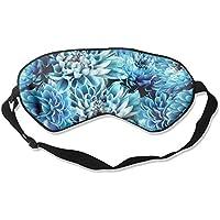 Blue Flower Floral Art Sleep Eyes Masks - Comfortable Sleeping Mask Eye Cover For Travelling Night Noon Nap Mediation... preisvergleich bei billige-tabletten.eu