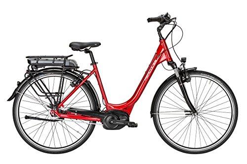 HERCULES Roberta R7 E Bike E-Bike Pedelec Elektrofahrrad 26″ Wave 46cm Rahmen 400W Akku Metallic Rot Glänzend Modell 2017