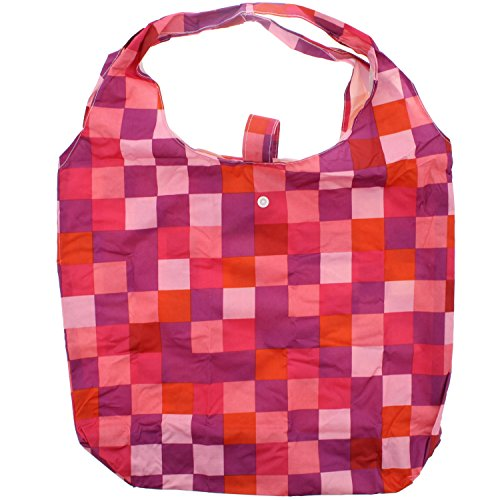 Zac 's Alter Ego® Heavy Duty Einkaufstasche in Tasche Bright Checkered