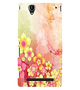 Phone Decor 3D Design Perfect fit Printed Back Covers For Sony Xperia T2
