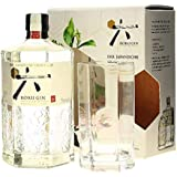 Roku Gin The Japanese Craft Gin 43% - 700ml in Giftbox with glass