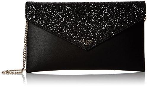 Guess Damen Bags Hobo Umhängetasche, Schwarz (Black), 1x18x30 centimeters (Schuhe Guess Taschen)