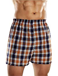 Fruit of the Loom Men's Fashion Plaid Boxers 5-Pack