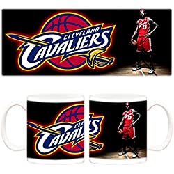 Taza NBA Cleveland Cavaliers King LeBron James