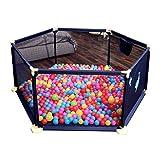 Baby Laufstall für Jungen und Mädchen, Kleinkind Kinder Spiel Hof Indoor Outdoor Play Pens Spiel Zaun (Größe : S)