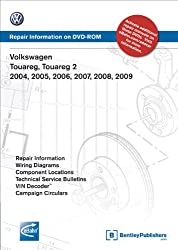 Volkswagen Touareg, Touareg 2 2004, 2005, 2006, 2007, 2008, 2009: Repair Manual on DVD-ROM
