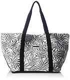 Volcom Damen Beach Dayz Tote Handtasche Henkeltasche, Schwarz (Black White), 15x32x68 cm