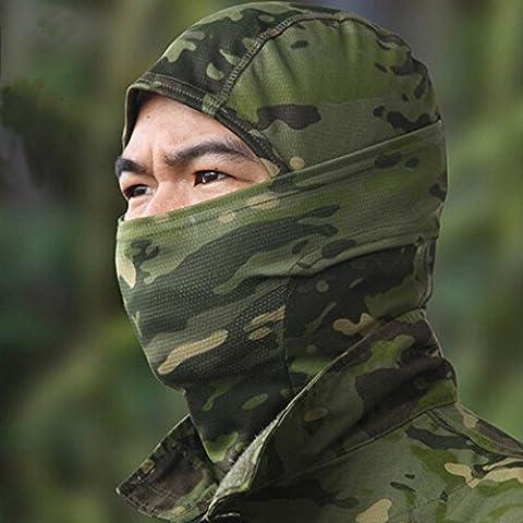 airsoftsports militare tattico passamontagna mimetico caccia Paintball Equitazione Maschera, MC (Tactical Air Controllo)