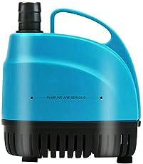D@Qyn Untere Saug-Tauchpumpe, Niedriger Wasserstand 1Cm, 360 Kein Toter Winkel Filter Absaugung, Anti-Trocken, Unten Aquarium Filterstummschaltung