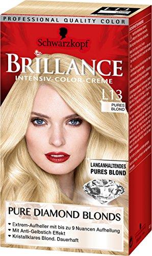 Brillance Intensiv-Color-Creme L13 Pures Blond Pure Diamond Blonds Stufe 3