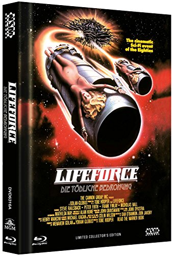 Lifeforce - uncut (Blu-Ray+DVD) auf 666 limitiertes Mediabook Cover A [Limited Collector's Edition] - Master Spas Filter