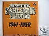 10 Jahre Schlager-Parade 1941-1950 [Vinyl Schallplatte] [10 LP Box-Set]
